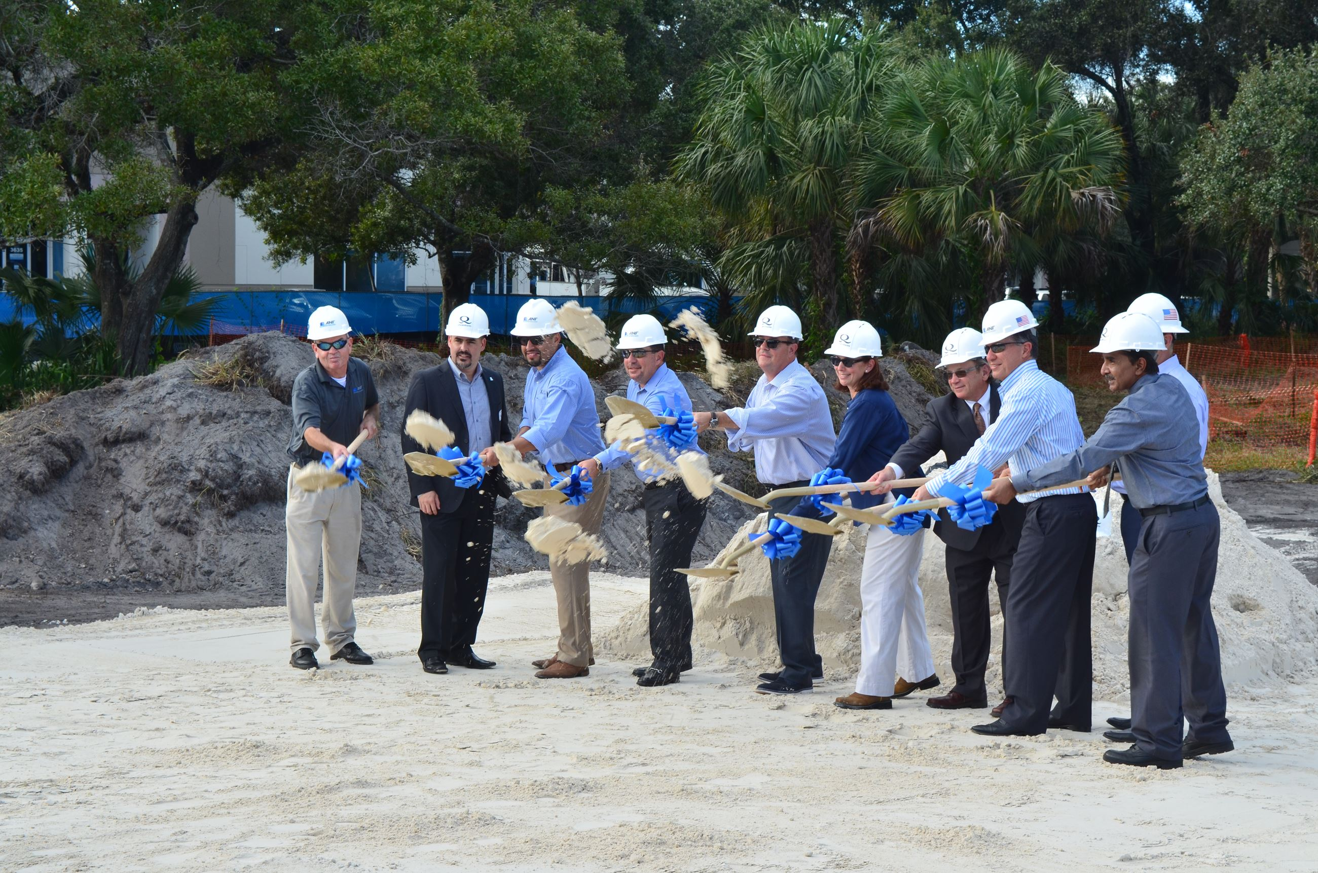 Quantum Marine Headquarters - Groundbreaking