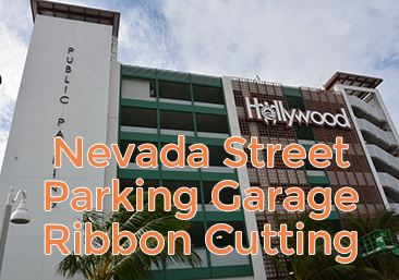 Nevada Street Garage Ribbon Cutting