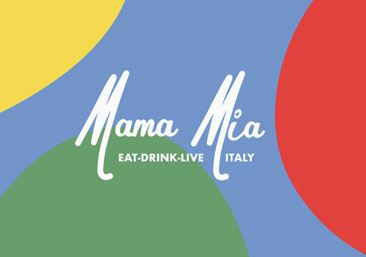 Mama Mia Logo Graphic